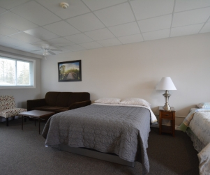 Motel Unit #2 - Starting @ $142 / night based on week day double occupancy. Please contact us for availability/reservation